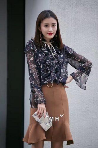 Mẫu áo Voan Nữ đẹp – Xu hướng thời trang công sở sành điệu 2017