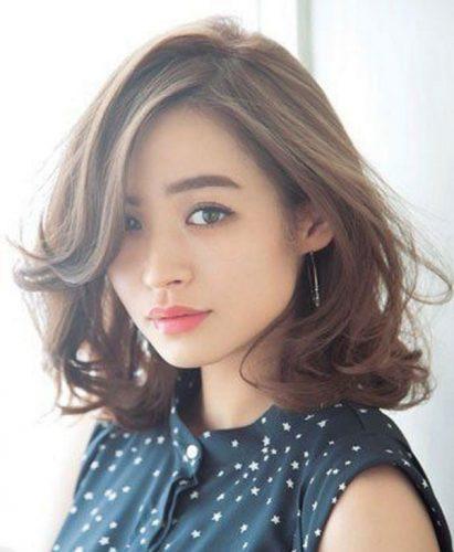 Kiểu tóc phù hợp với gương mặt vuông