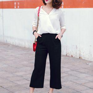 Cách phối Chiếc quần Culottes trở nên sành điệu cho mùa hè 2017