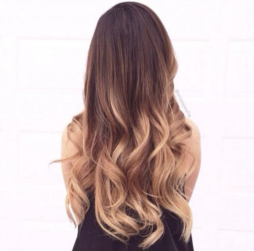 màu ombre  xu hướng tóc năm nay