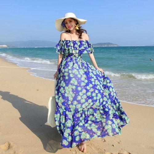Gợi ý những kiểu maxi biển đẹp hot nhất dành cho mùa hè 2017