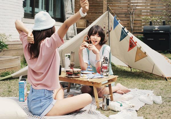 diện đồ đi picnic