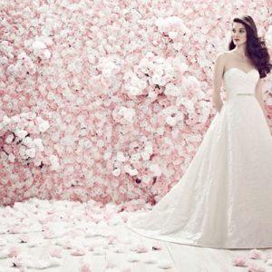 Váy cưới ngọt ngào cho cô dâu cổ điển