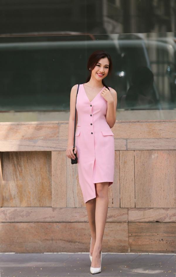 váy màu hồng đẹp