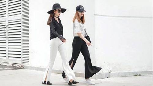 Kiểu quần dài nhưng vẫn khoe được chân sexy, hãy tìm và mua ngay