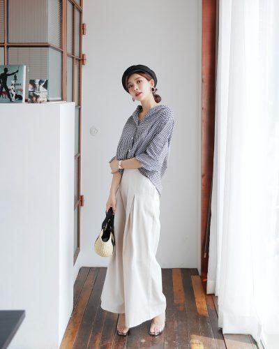 Gợi ý mặc đẹp với những kiểu áo sơ mi đơn giản