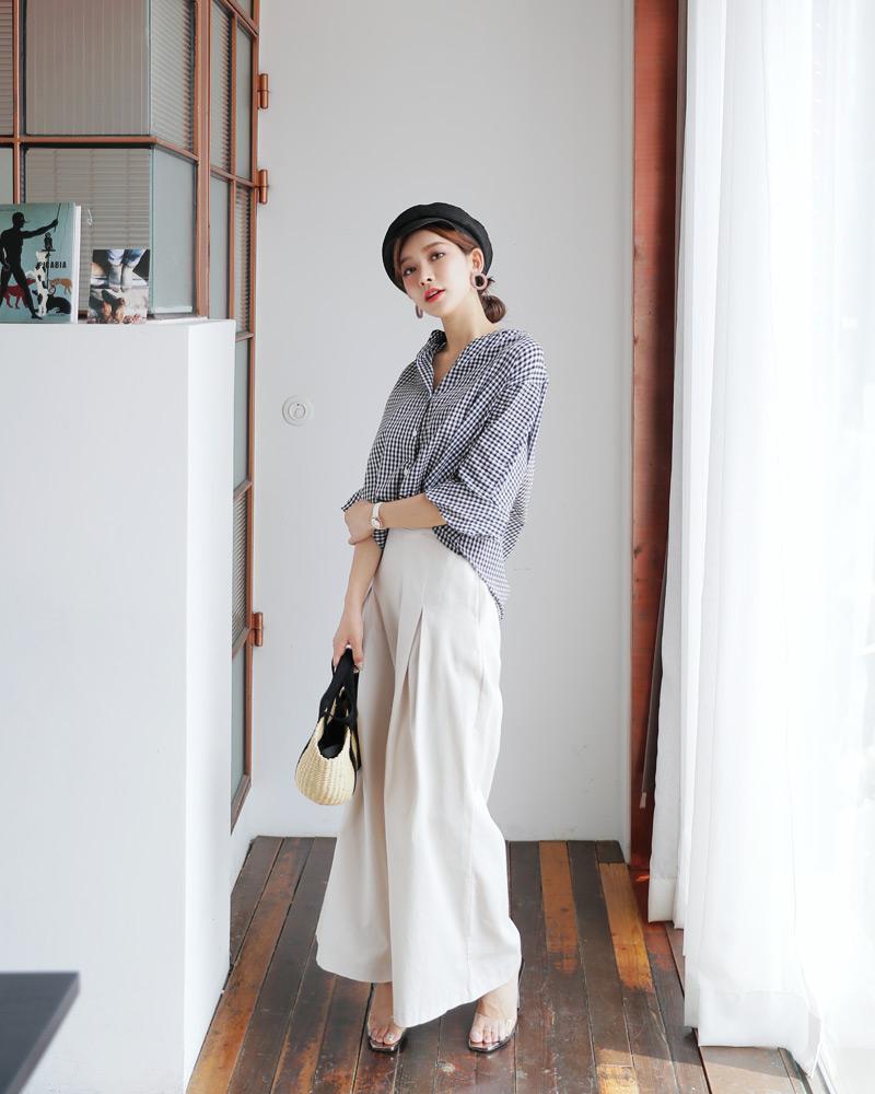 Những kiểu áo sơ mi đơn giản