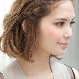 10 kiểu tết tóc dễ thương cho cô nàng tóc ngắn
