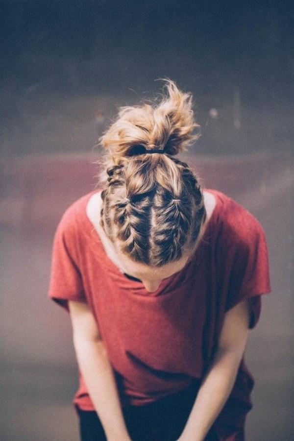 tết tóc ngắn đẹp