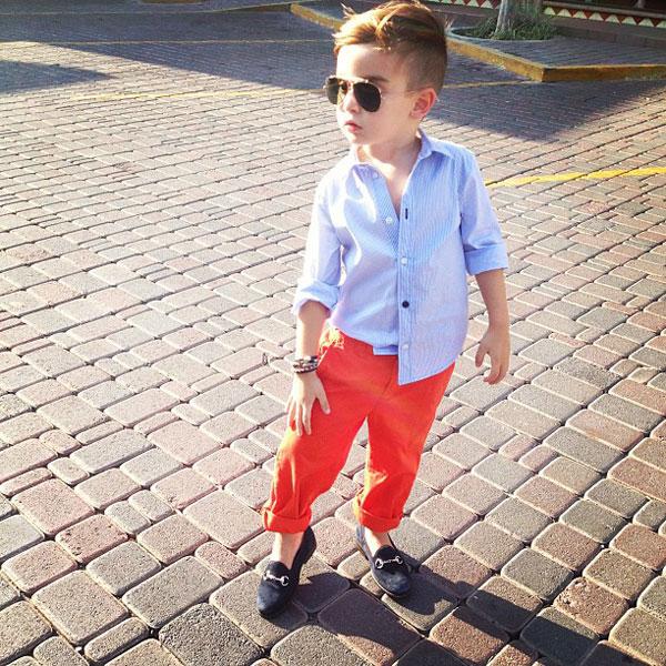 thời trang cho bé trai