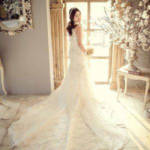 Top 10 Kiểu váy cưới đuôi cá đẹp nhất 2017 cho cô dâu trẻ