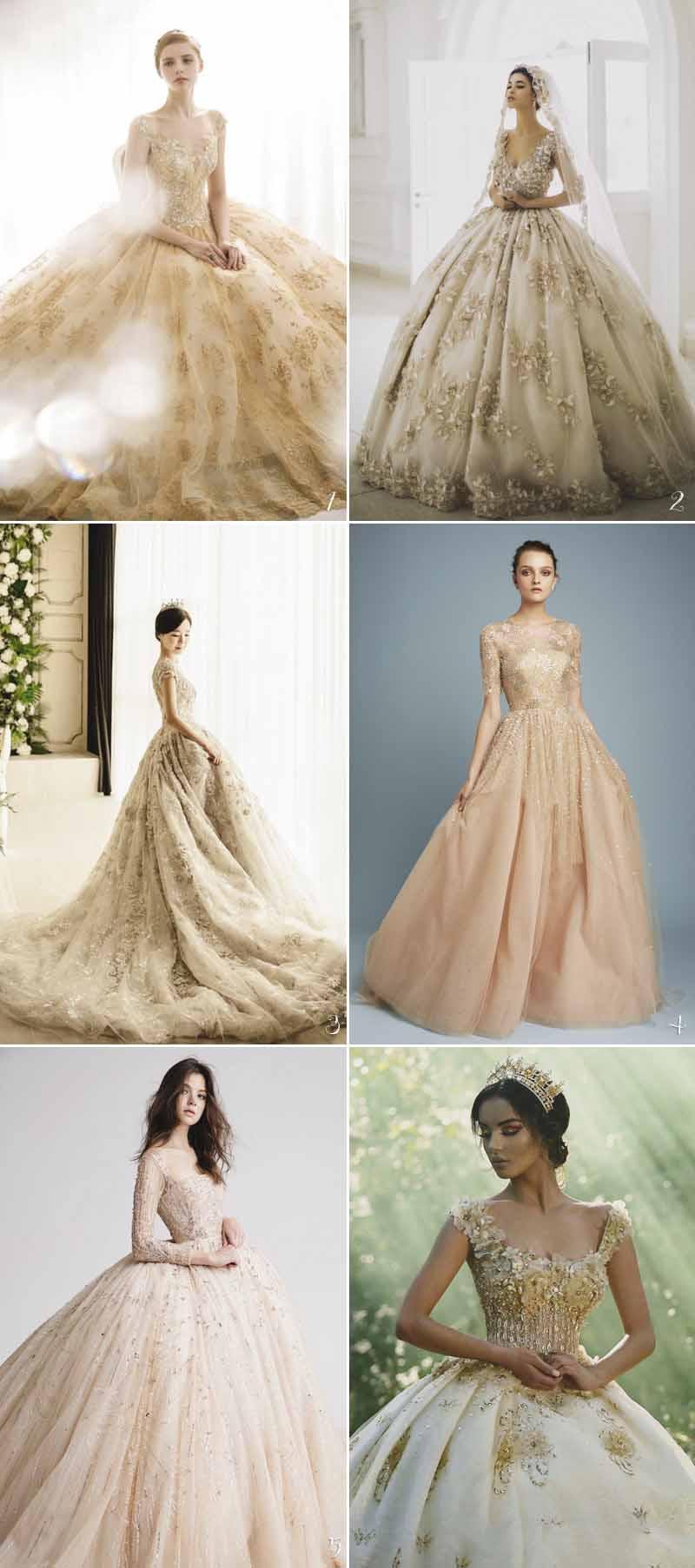 xu hướng váy cưới
