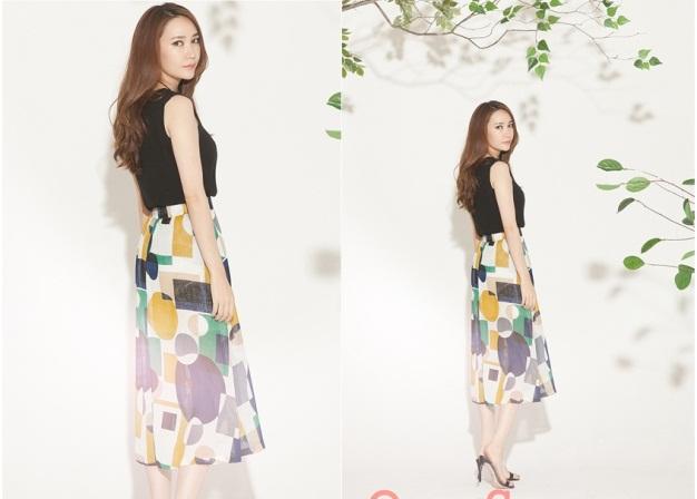 Chân váy đẹp cho mùa thu