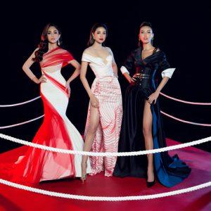 Phạm Hương, Mâu Thủy, Minh Tú trong cuộc đua phong cách thời trang
