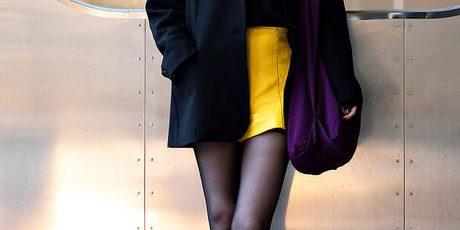 Thời trang mùa thu  – Tín đồ thời trang Hàn lăng xê mốt áo khoác độn vai