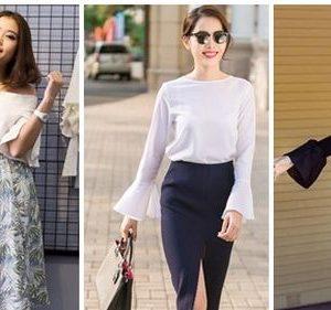 Bí quyết thời trang đánh tan nỗi lo vai to của nhiều cô nàng