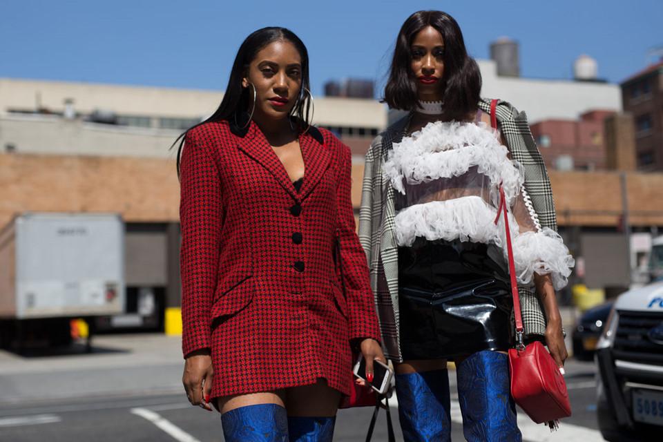 Thời trang đường phố New York Fashion Week: Từ sexy đến sang chảnh